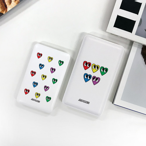 DPARKS RAINBOW HEART(2TYPE)  보조배터리 - 5000/10000mAh