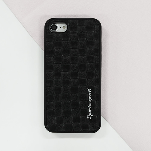 TEGACROSS LEATHER COVER - BLACK