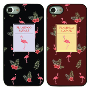 DPARKS NEW FLAMINGO SQAURE BLACK CASE
