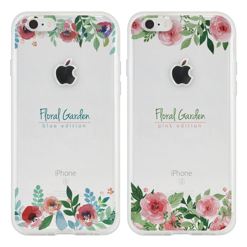 YEAJIN FLORAL TB(4TYPE) SOFT CASE