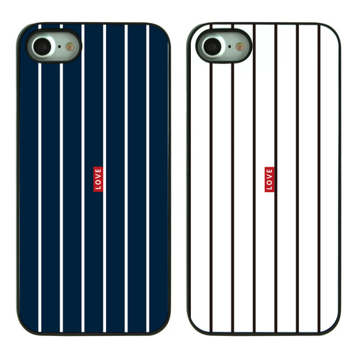 HYONNA STRIPE LOVE BLACK CASE