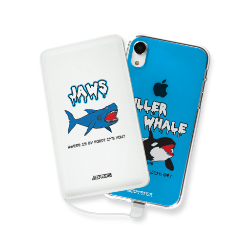 DPARKS SEA FRIENDS(2TYPE)  보조배터리 - 5000/10000mAh