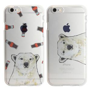 파란물꼬기 심플 북극곰(3TYPE) SOFT CASE