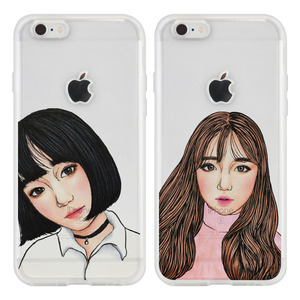 평아리 EYES (2TYPE) SOFT CASE